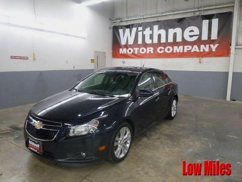 Pre-Owned 2014 Chevrolet Cruze 4dr Sdn LTZ FRONT-WHEEL DRIVE sedan