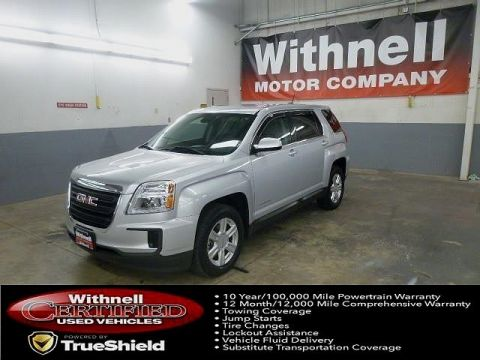 Certified Pre-Owned 2016 GMC Terrain FWD 4dr SLE w/SLE-1 FRONT-WHEEL DRIVE 4 Door SUV