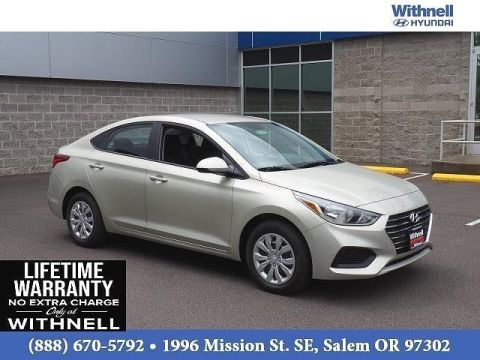 New 2020 Hyundai Accent SE Sedan IVT FWD 4 Door Sedan