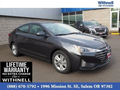 New 2020 Hyundai Elantra SEL IVT FRONT-WHEEL DRIVE 4 Door Sedan