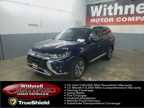 Pre-Owned 2019 Mitsubishi Outlander SEL S-AWC FOUR WHEEL DRIVE 4 Door SUV