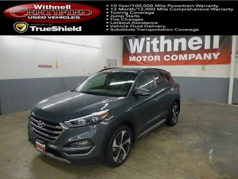 Certified Pre-Owned 2017 Hyundai Tucson Limited AWD ALL WHEEL DRIVE suv