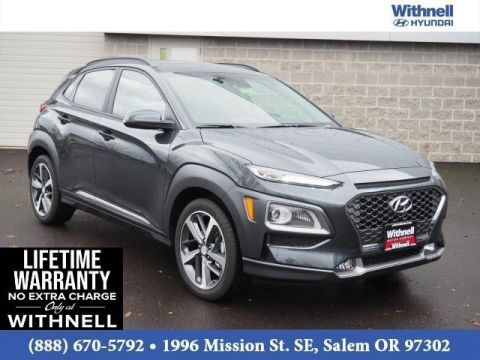 New 2020 Hyundai Kona Limited DCT FWD FRONT WHEEL DRIVE DCT FWD