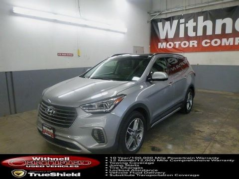 Certified Pre-Owned 2017 Hyundai Santa Fe Limited Ultimate 3.3L Auto FRONT-WHEEL DRIVE 4 Door SUV