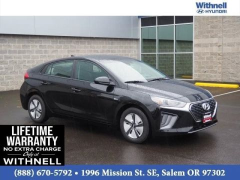 New 2020 Hyundai Ioniq Hybrid Blue Hatchback FRONT-WHEEL DRIVE 4 Door Hatchback